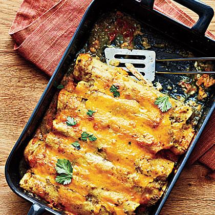 Enchiladas z kurczaka
