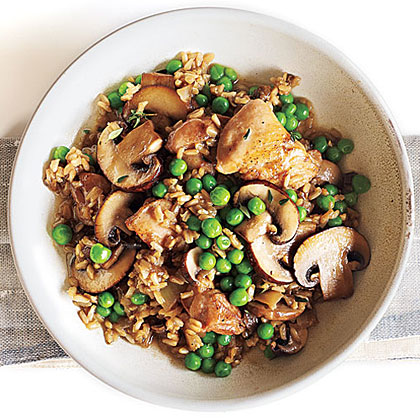 Chicken and rice with mushrooms recipe myrecipes chicken and rice with mushrooms forumfinder Choice Image