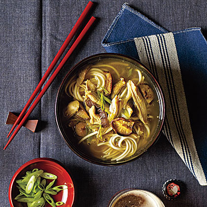 Chicken-Udon Soup Recipe