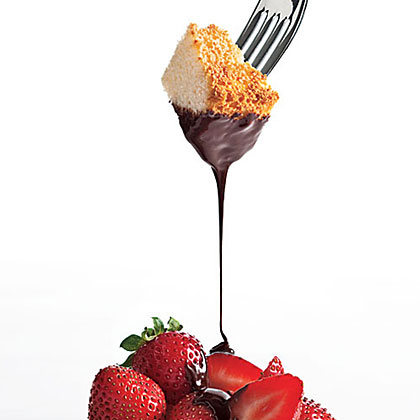 Chocolate-Frangelico Fondue Recipe - 0 | MyRecipes.com