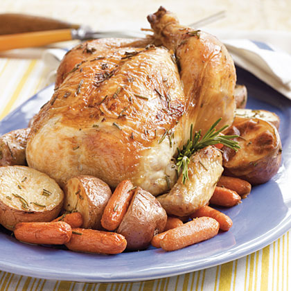 Gran's Rosemary Roast Chicken