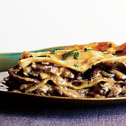 Mushroom LasagnaRecipe