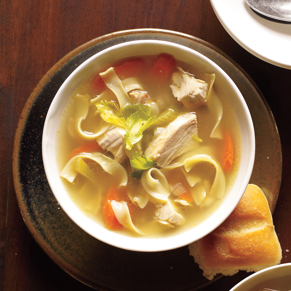 how to cook chicken for chicken noodle soup