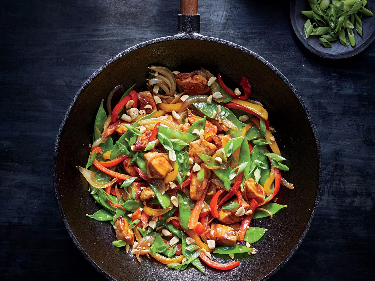 Szechuan Chicken Stir Fry Recipe Myrecipes