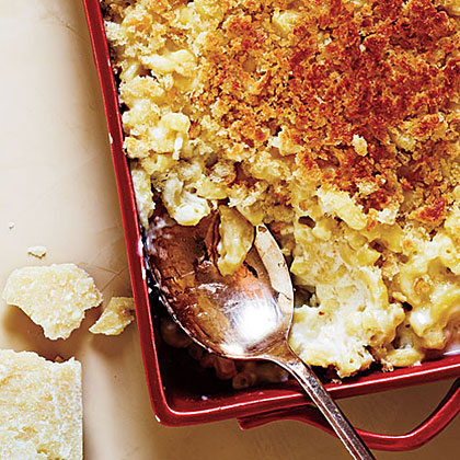 Unlike boxed mac and cheese, this from-scratch dish will leave you satisfied. Of couse, that doesn't mean you won't go back for seconds or attempt to lick the pan. Do yourself a favor and store the leftovers in the fridge quickly.Truffled Mac and Cheese Recipe