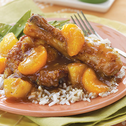 Polynesian Chicken RecipeBaked chicken pieces combine with a pineapple and orange soy sauce...a delicious taste of the islands!