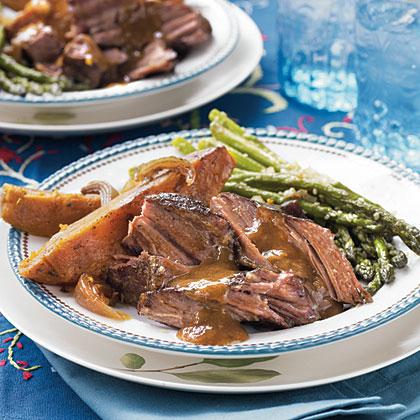 Pot Roast and Sweet PotatoesRecipe