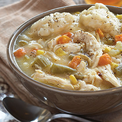 Chicken and Dumplin Soup