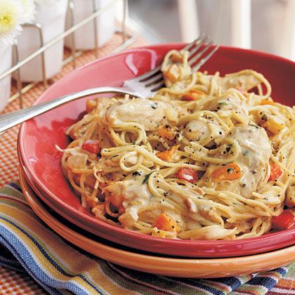 Chicken-Pepper Pasta