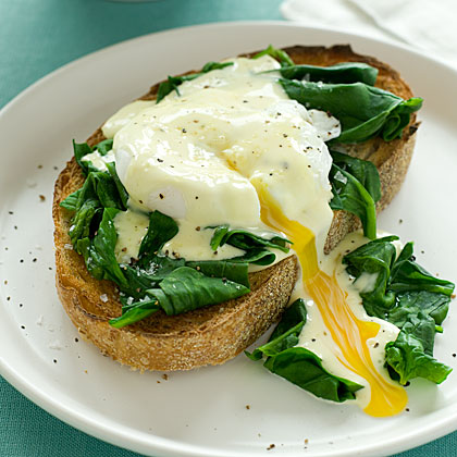 Eggs Benedict Florentine Recipe   MyRecipes