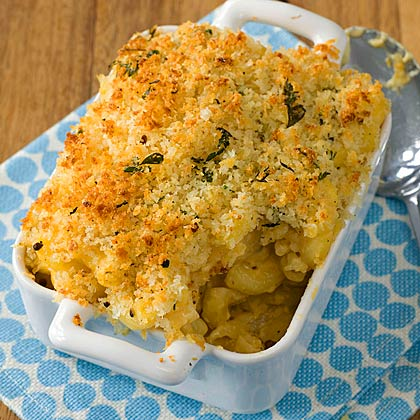 Individual Baked Mac and Cheese