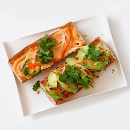 Spicy Avocado Banh Mi