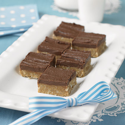 Grace's No-Bake Fudge Squares