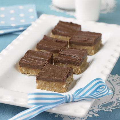Grace's No-Bake Fudge Squares