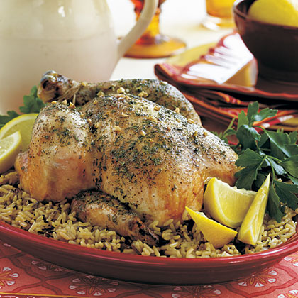Lemony  Baked  Chicken