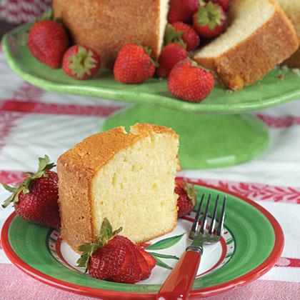 Buttermilk Pound CakeRecipe