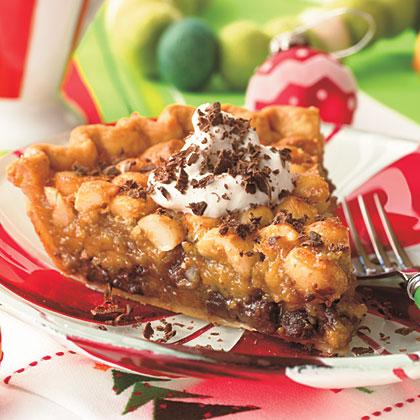 Chocolate-Macadamia Pie Recipe