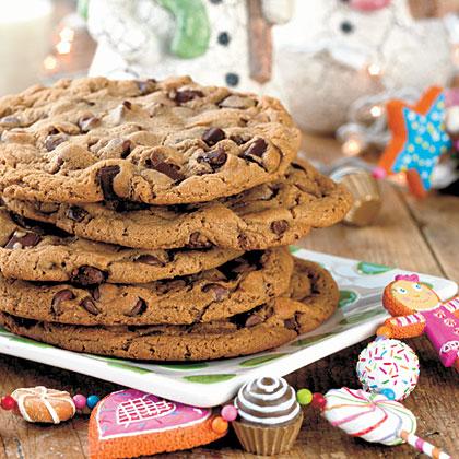Giant Chocolate Malt Cookie
