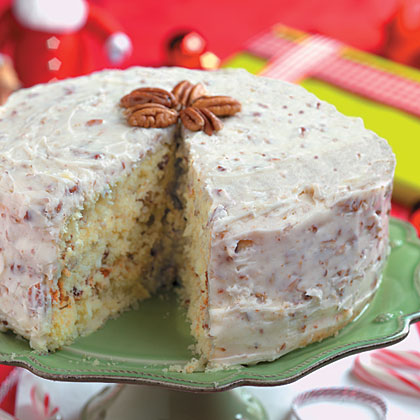 Quick Italian Cream Cake Recipe Myrecipes