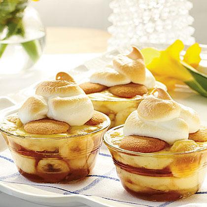 Caramelized Banana PuddingRecipe