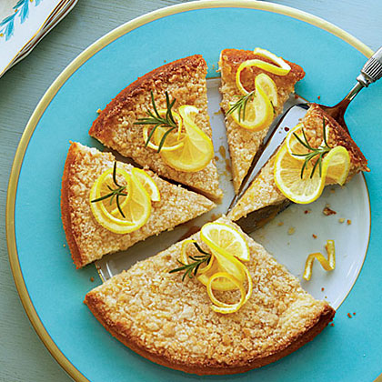 Lemon-Rosemary Coffee Cake