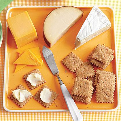 Mini Cheese CrackersRecipe