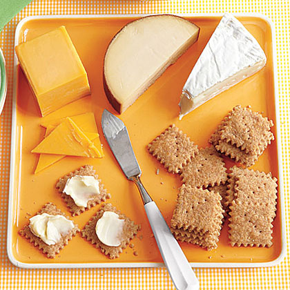 Mini Cheese Crackers