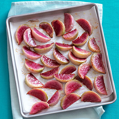 Roasted Watermelon Radishes