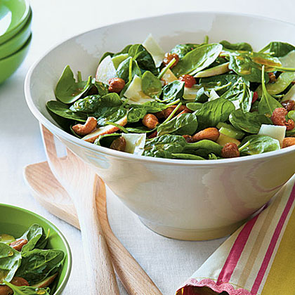 Waldorf Spinach Salad