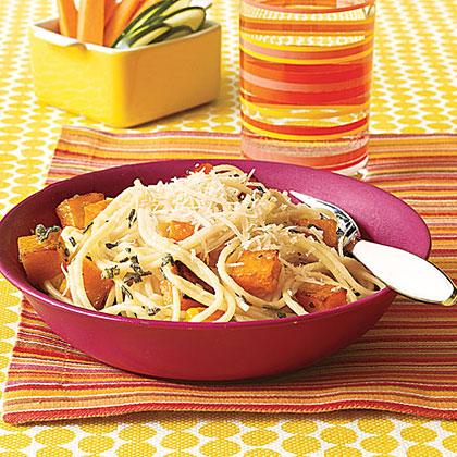 Spaghetti with Butternut Squash