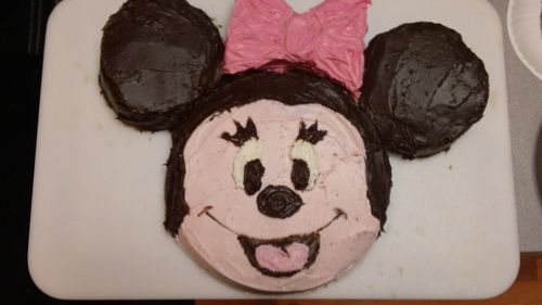 Wondrous How To Make A Minnie Mouse Cake Myrecipes Funny Birthday Cards Online Alyptdamsfinfo
