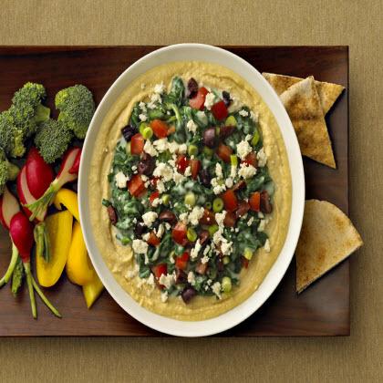 Birds Eye® Creamed Spinach Hummus DipRecipe