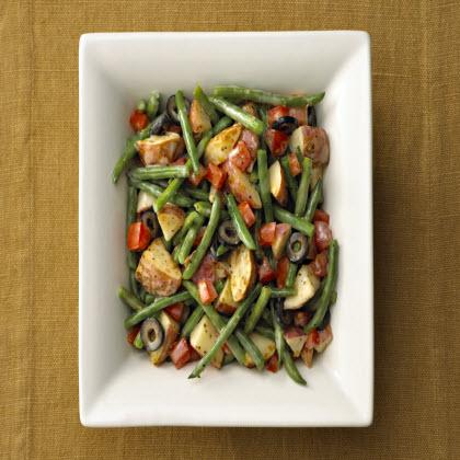 Birds Eye® Garlic Parmesan Potatoes & Green Beans with Tomatoes Recipe