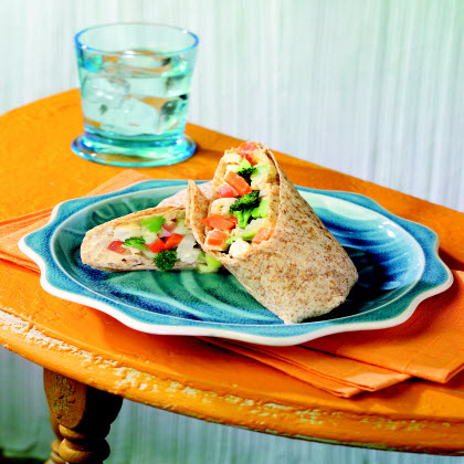 Birds Eye® Greek Veggie & Hummus WrapRecipe