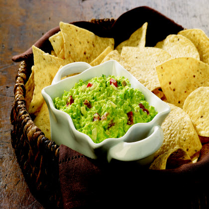 Birds Eye® Pea Guacamole  RecipeUnexpected nutrients make their way into this party favorite that is best served with tortilla chips and sprinkled with cilantro.