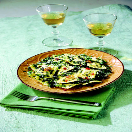 Birds Eye® Ravioli with Spinach, Pancetta & Sage Recipe