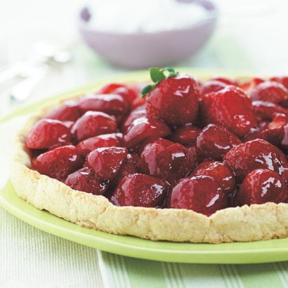 Glazed Strawberry Tart Recipe