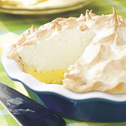 Mile-High Lemon Meringue PieRecipe