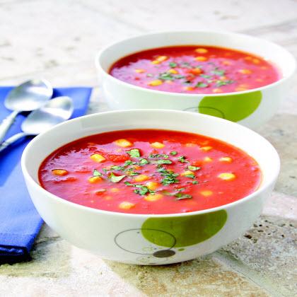 Birds Eye® Gazpacho Style Corn & Tomato Soup