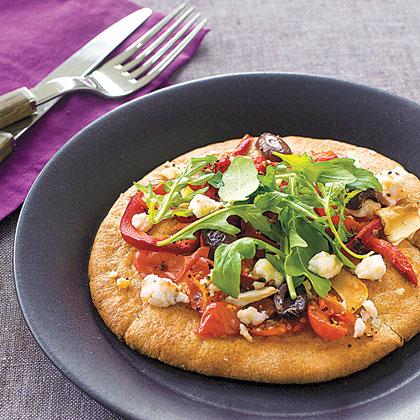 Mini Mediterranean Pizzas