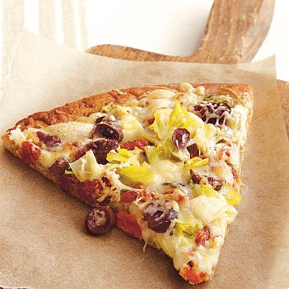 Salad Bar Pizza Recipe