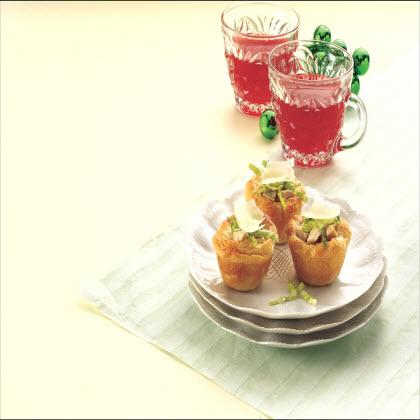 Mini Chicken Caesar Cups