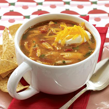 Chicken-corn Tortilla Soup