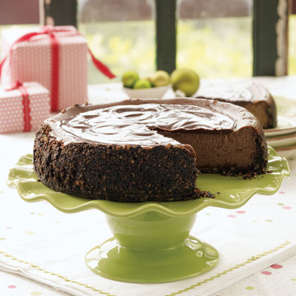 Chocolate-Cappuccino Cheesecake Recipe | MyRecipes