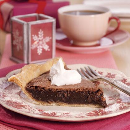 Chocolate Chess Pie Recipe