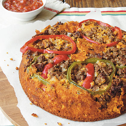 Upside-Down Salsa Cornbread Recipe