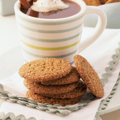 Peppery Molasses CookiesRecipe