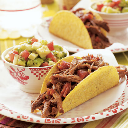 Slow-Cooker Roast for Tacos Recipe