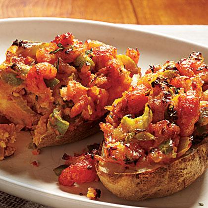 Cajun-Stuffed Potatoes