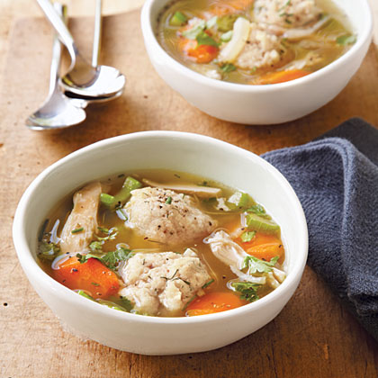 Chicken-Matzo Ball Soup